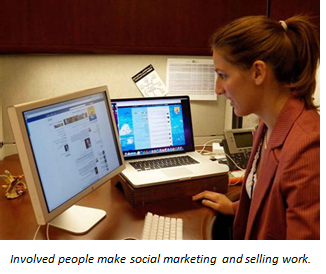 Using social media effectively requires human involvement, often from a B2B marketing services agency.